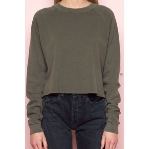 Brandy Melville Army Green Abigail Thermal